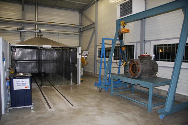 Atelier reparation et maintenance pompe et moteur